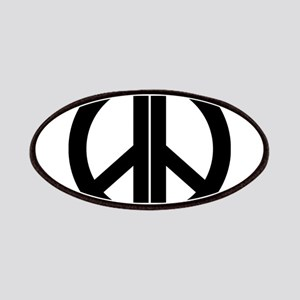 AA Peace Symbol Patches