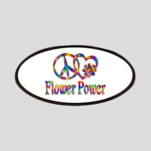 Peace Love Flower Power Patch