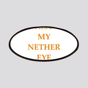 kiss my nether eye Patch
