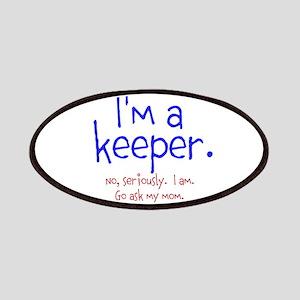 Im a keeper Patch