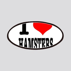 I Heart (Love) Hamsters Patches