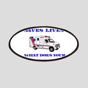 Ambulance Saves Lives-Aunt Patches