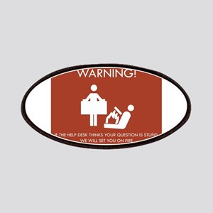 Warning Help Desk Patches