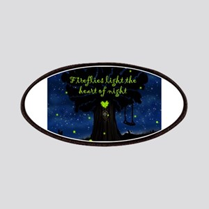 Fireflies light the heart of night Patches
