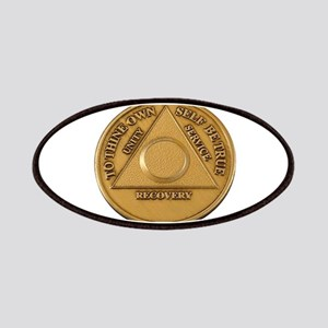 Alcoholics Anonymous Anniversary Chip Patches