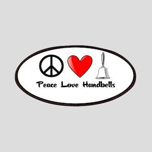 Peace, Love, Handbells Patches