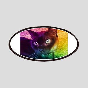 Burmese Cat Portrait B Patches