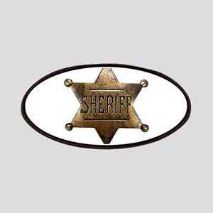 Sheriff Badge Patches