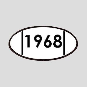 1968 birthday original design year Patch