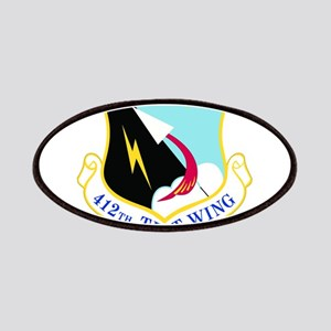 USAF Air Force 412th Test Wing Shield Patches