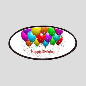 Happy Birthday Balloons Patch