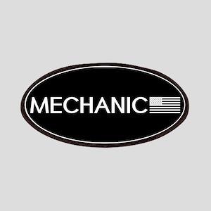 Mechanic: American Flag (White) Patch