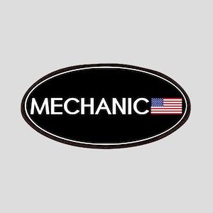 Mechanic: American Flag Patch
