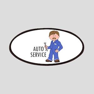 AUTO SERVICE Patches