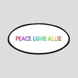 Peace Love Allie Patch