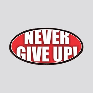 Never Give Up - Red Patch