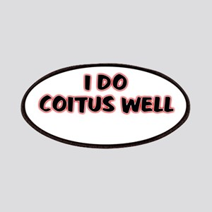 I Do Coitus Well Patches