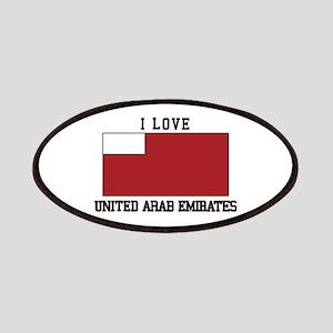 I love v united arab emirates Patch