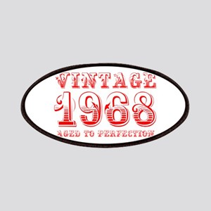 VINTAGE 1968 aged to perfection-red 400 Patch