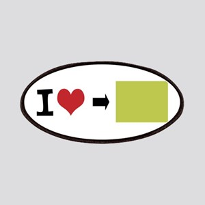 Customize Photo I heart Patches