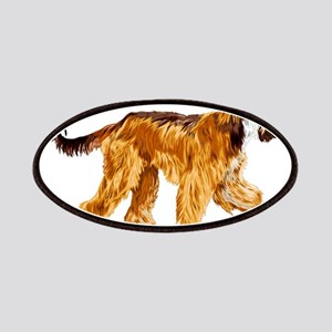 Brown afghan hound Patch