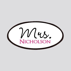 Customizable Name Mrs Patch