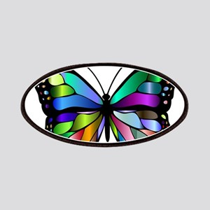 Prismatic Rainbow Winged Butterfly Patch