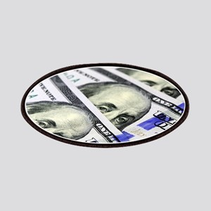 US Currency One Hundred Dollar Bill Patch
