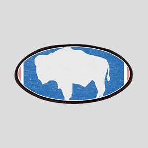 Wyoming State Flag Patches