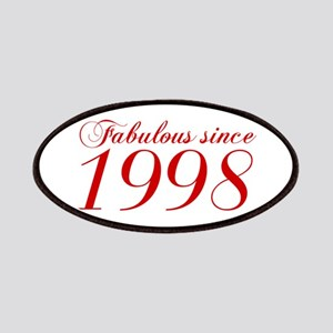 Fabulous since 1998-Cho Bod red2 300 Patch