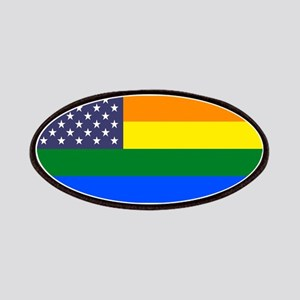 US Pride Rainbow Flag Patch