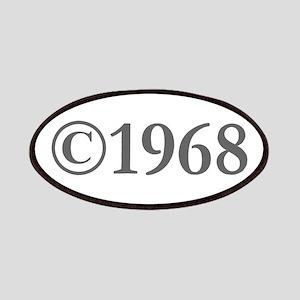 Copyright 1968-Gar gray Patch