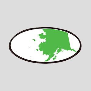 Alaska State Shape Outline Patch
