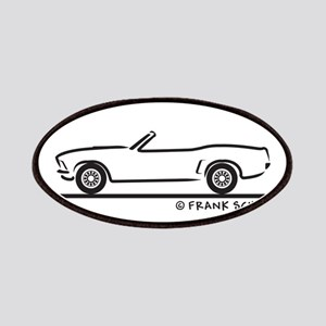 69 Mustang Convertible Patches