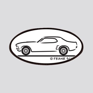 69 Mustang Hardtop Patches