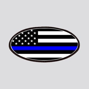 Police: Black Flag & The Thin Blue Line Patch