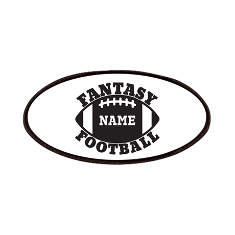 Personalized Fantasy Football Patches by megasportsfan