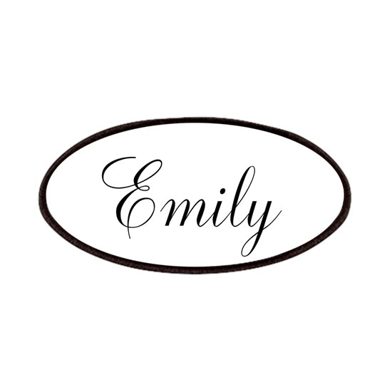 Personalized Black Script