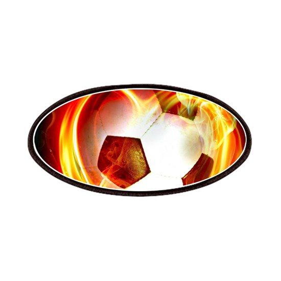 Flaming Football Ball