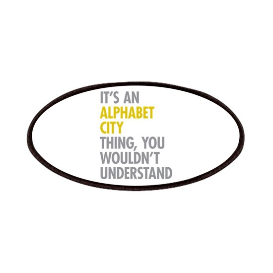 Alphabet City Thing