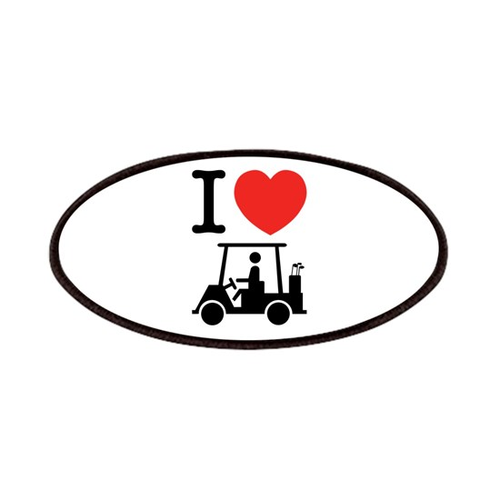 I Heart (Love) Golf Cart