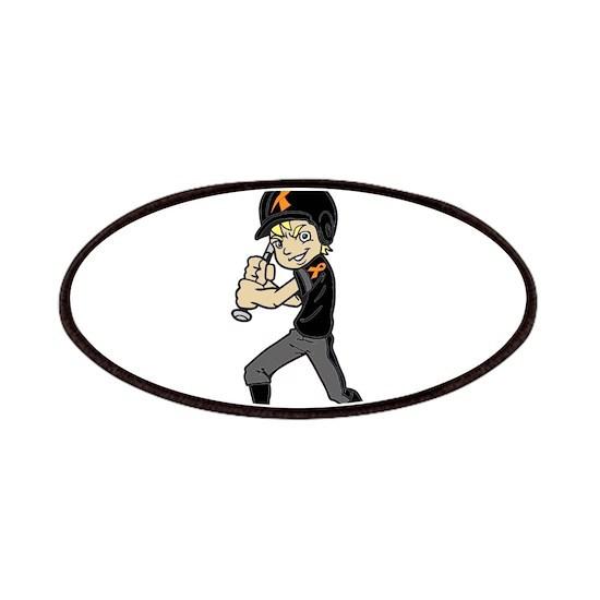 BASEBALL / SOFTBALL BOY ORANGE RIBBON