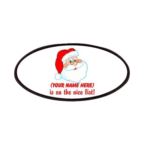 Personalized Santas Nice List