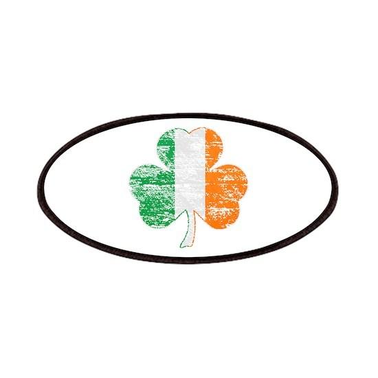 Vintage Irish Flag Shamrock