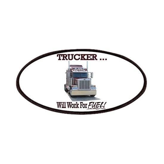 Red Peterbilt(Trucker..Will Work For FUEL!)