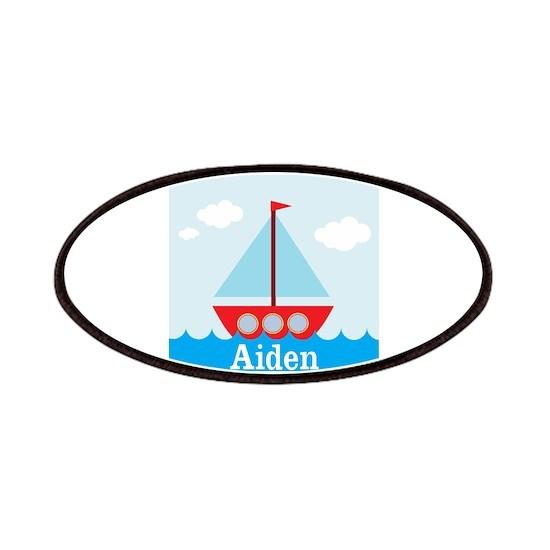 Personalizable Sailboat in the Sea