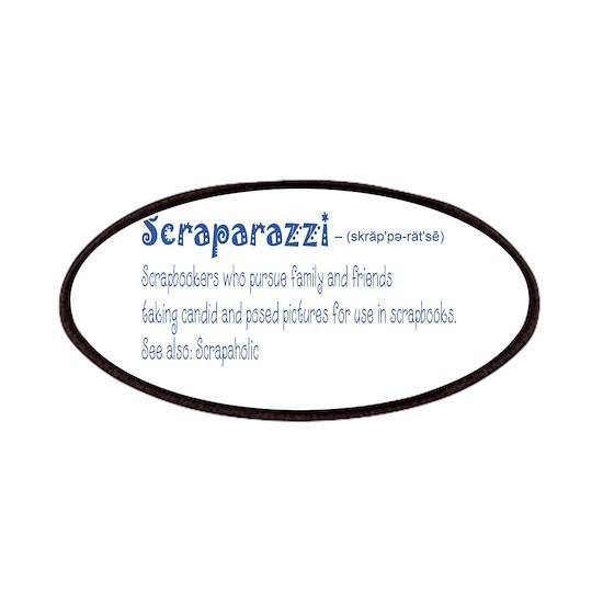 scraparazzi blue