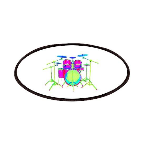 Colorful Drum Kit
