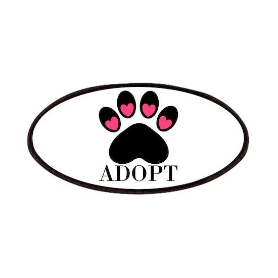 Adopt Puppy Dog Paw Print