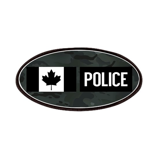 Canadian Police: Black Camouflage